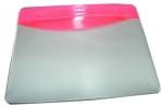 Бейдж Т-090 пластик, 9, 5*5, 5см, красная вставка J. Otten /10 /100 /2000 /0 оптом