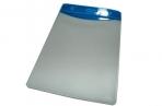 Бейдж Т-091 вертикальный пластик, 74*104см, синяя вставка J. Otten /10 /100 /2000 / оптом