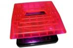 Дырокол 6348 розовый прозрачный, на 30 листов J. Otten /12 /0 /36 /0 оптом