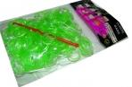 Набор Плетение из резинок 8761 200шт, блестки, асс, крючок /1 /50 /2400 /0 оптом
