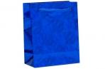 Пакет голографический, синий, рисунок МИКС, 8 х 4 х 10 см оптом