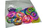 Набор Плетение из резинок РJ01 цветной микс+станок, 100 шт /200 /0 /2000 /0 оптом