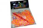 Набор Плетение из резинок РJ06 двухцветные+крючок, 200 шт /100 /0 /1800 /0 оптом