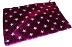 Мешок для подарка 6059-3 Звезды, 30*20 см, текстиль /50 /0 /2500 /0 оптом