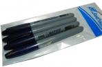 """Маркер перман. 9500 синий """"Элемент"""", цена за 4шт в ОПП, 4мм, ЭКО /1 /0 /432 /0 оптом"""