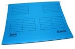 Подвесная регистратура папка BANTEX 3463/3460-11 голубая А4 25шт оптом