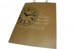 """Пакет подар. бумага 4776-1 """"Крафт с рисунком"""", 26, 6*35*11, 4см J. Otten /12 /0 /28 оптом"""