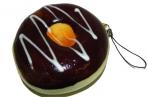 Брелок- антистресс Пончик 8 см с глазурью оптом