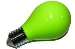 Пепельница в виде лампочки зеленая оптом