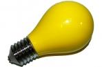 Пепельница в виде лампочки желтая оптом