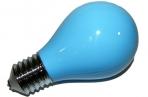 Пепельница в виде лампочки синяя оптом