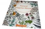 """Раскраска-антистресс Арт-терапия 451-1 """"Natural Singular Mirror"""", 25*25см, 24 ст оптом"""