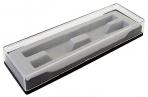 Футляр для ручек 171*55*24мм пластиковый прямоугольный оптом