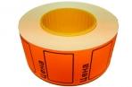 Ценник ролик. 29*28мм (500эт) /160 оранжевый оптом