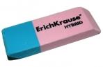 "Ластик ERICH KRAUSE ""Hybrid"", 54x18x7, 5мм, красно-синяя, дисплей, 35749 оптом"