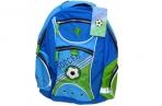 рюкзак школьный Soccer голубой оптом