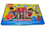 игровой домик для раскрашивания Artberry/Country house/мал/карт. короб. разноцветный оптом