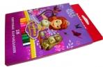 карандаши 18цв Sofia in Flowers разноцветный оптом