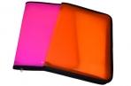 """Папка на молнии пластиковая ERICH KRAUSE """"Glance Neon"""", A4, цвет ассорти, 43032 оптом"""