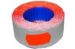 Этикет-лента МЕТО малая PN (волна) 22х12 (700эт. /270рол. ) красная оптом