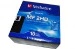 Дискета  Verbatim, HD, IBM-format, Data Life 10 дискет в картонной коробке~~ оптом