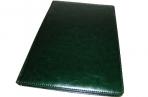 Еженедельник NATURE, кожзам, зеленый, лин., недатиров., ляссе, 128с., ф. А4 (225*320мм),  (INDEX) оптом