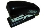 """Степлер 24/6&26/6 (мощность 12 листов) малый пластиковый черный """"iOffice"""" в картонной коробке оптом"""