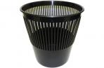 Корзина для бумаг, сетчатая, черная, 9 литров,  (СТАММ) оптом