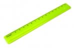 Линейка цветная, флюоресцентная, 4 цв., 16 см,  (СТАММ) оптом