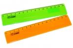 Линейка 15см с волнистым краем NEON Cristal ассорти (100шт/упак) СТАММ ЛН174 оптом
