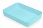 Лоток хозяйственный большой голубой Pastel ЛТ592 оптом