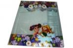 """Набор обложек для тетрадей и дневников """"Proff. Naughty Flowers"""", 355*213 мм (130 мкм), выборочная печать, 03 шт. /в упаковке оптом"""