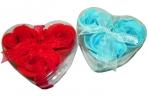 Мыло сувенирное в сердечке, ассорти оптом