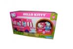 1toy Hello Kitty, Игр. наб. : школьный автобус, 2 фигурки, 22, 86*8, 89*12, 7 см, кор. оптом