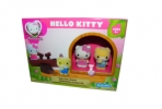 1toy Hello Kitty, Игр. наб. : качели, 2 фигурки, 17, 78*7, 62*12, 7 см, кор. оптом