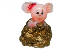 Cвеча МЫШКА с монетами, 4, 5 см, 2 в.,  (WINTER WINGS) оптом