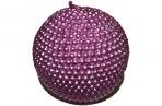 Свеча ШАР ЖЕМЧУГ, 1 шт, 6. 5 см, в пакете, розовый,  (WINTER WINGS) оптом