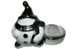 Подсвечник СНЕГОВИК, 1 шт, 9, 7*7, 3 см, керамика, в пакете,  (WINTER WINGS) оптом
