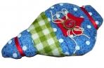 Украшение декоративное ЯРКАЯ КЛЕТКА, 8, 5 см, полиэстр, 3 вида, 1 шт в пакете,  (WINTER WINGS) оптом