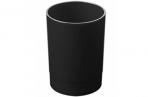 Подставка-органайзер СТАММ (стакан для ручек), 70*70*90 мм, черный, оптом