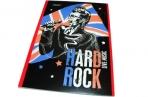 """Блокнот A5 40 листов в клетку """"Proff. Rock Stars"""", офсет/обл. мелованный картон+ВД-лак/скоба оптом"""