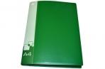 Папка-скоросшиватель пруж/карман 0, 70мм сменн этик зелен БЮРОКРАТ PZ07P_816870 [4607034797737] оптом