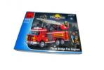 Enlighten констр., пожарная машина, 466 дет., кор 35*26*5, 5 см оптом