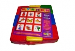 Игрушка выдувная кубики тематические №9 Арт. Р-6665 оптом