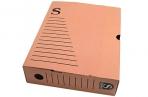 Лоток-коробка архивный, микрогофрокартон, 250x75x315 мм, красный, уп-ка 5 шт, цена за 1 шт,  (SPONSOR) оптом
