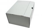 Лоток-коробка архивный, микрогофрокартон, 250x150x315 мм, белый, уп-ка 5 шт, цена за 1 шт,  (SPONSOR) оптом