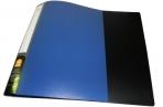 Папка с 10 файлами, форзац, ф. А4, ассорти, 0.5 мм,  (SPONSOR) оптом