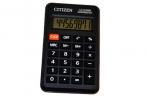 Калькулятор карманный Citizen LC-310NR, 8 разр., питание от батарейки, 69*114*14мм, черный оптом