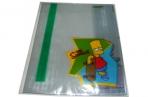 """Набор обложек для тетрадей и дневников """"Proff. The Simpsons"""", 355*213 мм (130 мкм), выборочная печать, 03 шт. /в упаковке оптом"""