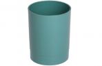 "Подставка-стакан Стамм ""Офис. Voyage. NY"", пластик, круглый, зеленый оптом"